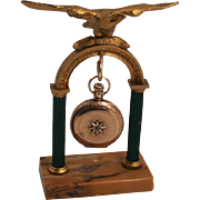 Antique French 19C Eagle Jewellery Watch Stand