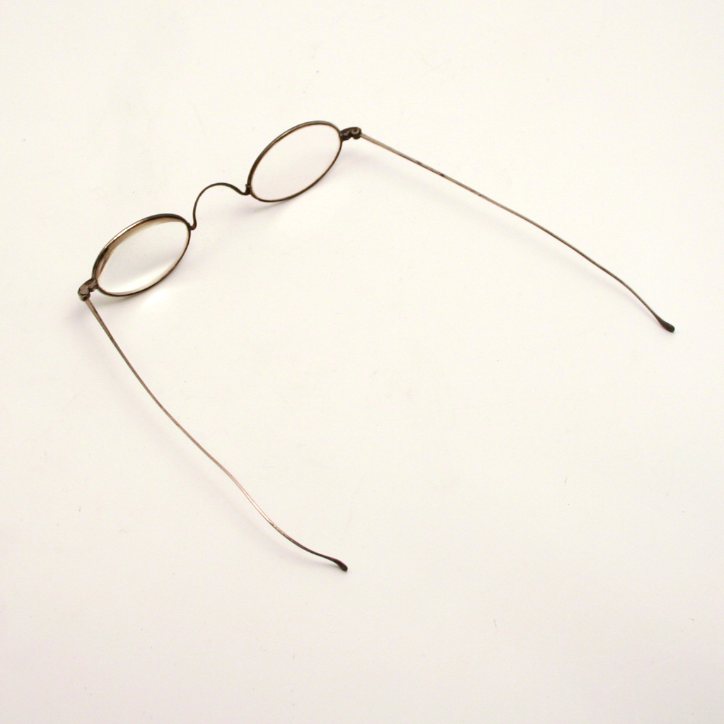 19c Wig Eye Glasses Spectacles with original case Nimes France