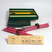 Vintage 1930 Game The Game of Royal Sticks S817