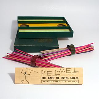 Vintage 1930 Game The Game of Royal Sticks