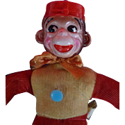 1930's Monko Monkey, Toy Carnival Doll, NY World's Fair Memorabilia, Celluloid, Flawless Condition
