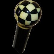 Art Deco 1930's Cane, Walking Stick,