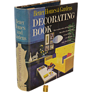 1956-61 Better Homes & Garden Decorating Book, Classic Retro  50's-60's Furniture and Room Design, Immaculate Condition