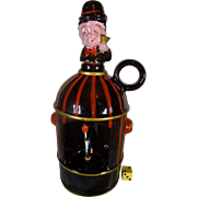 Scarce Musical Decanter, 1960's Fire Hydrant,  by Tilso of Japan, Immaculate, Fire Fighter Gift, Liquor, Whiskey, Scotch