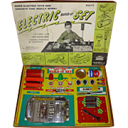 1950's Electric Build It Set, Toy, by Jim Prentice, Electric Game Co., Model A-30