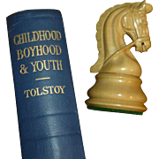 "Leo Tolstoy's Short Stories; "" Childhood, Boyhood, and Youth "", Russia,  Translated by Maude Sisters, Oxford University Press, Ca. 1930, Pristine Condition"