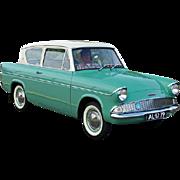 Ford Anglia / Taunus, 1950's, England, Ireland, Germany,  Firewall ID Plates, Framed