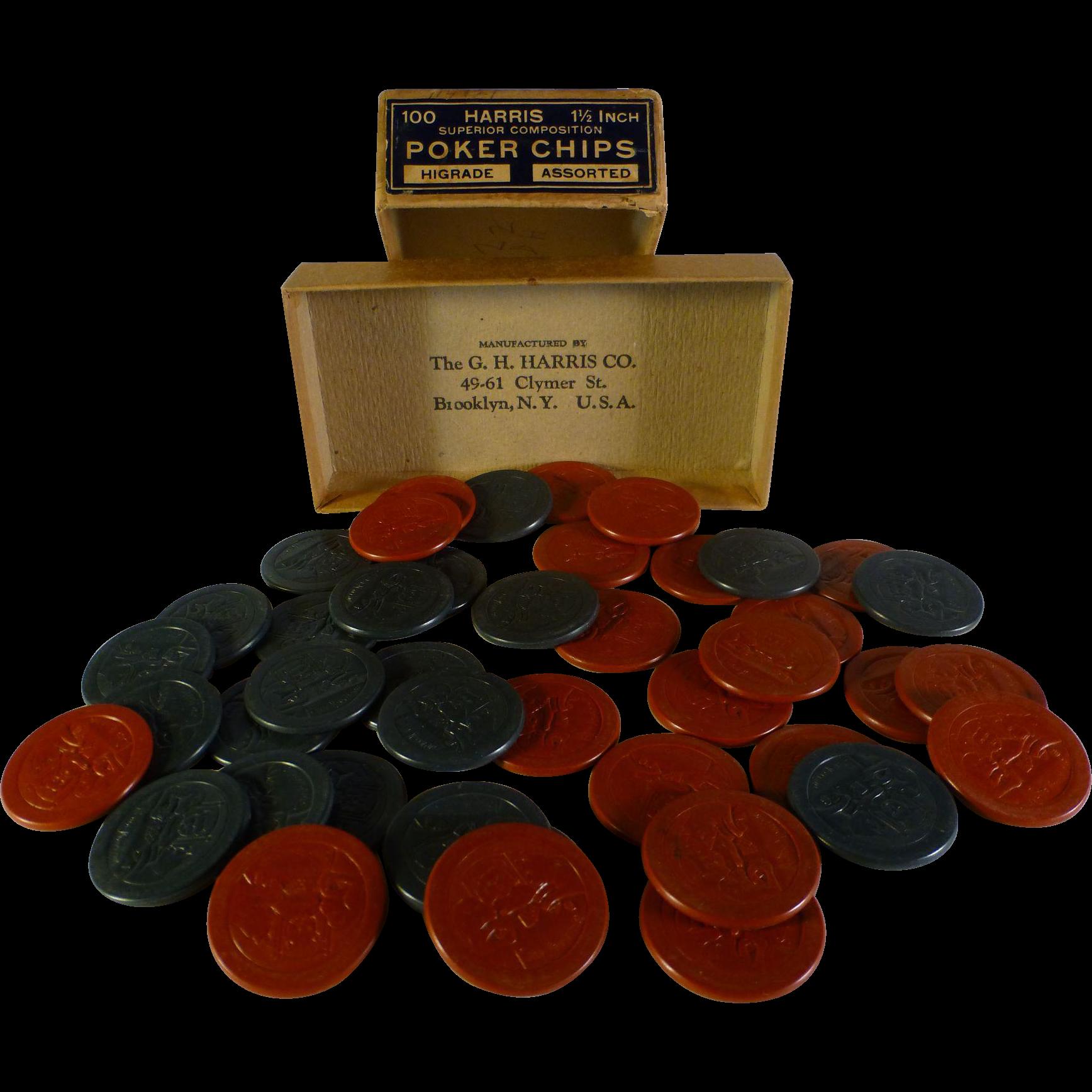 Remington poker chips