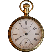 Gold Filled NY Standard Pocket Watch, circa 1900 - 1905, Victorian Era, Model 60, New Jersey, 7 Jewels, Excellent Working condition