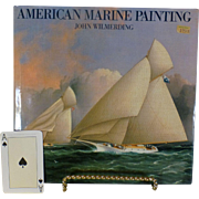"Classic Vintage Book, "" American Marine Painting "",  John Wilmerding, Expansion of Original 1968  "" History of American Marine Painting "", Superb Condition"