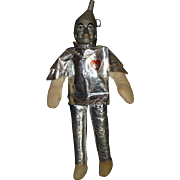 "Vintage 1960's Wizard of Oz "" Tin Man "" Doll, 17"" Tall !!, Excellent All Original Condition"