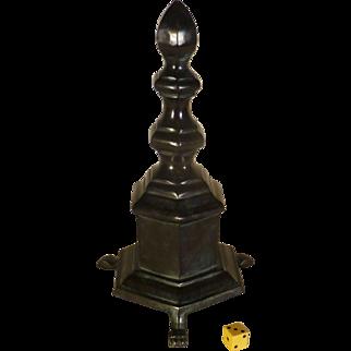 Phallic Symbol, Brass / Bronze, Early Door Stop, Mantel / Hearth Decorative Piece, or Paperweight