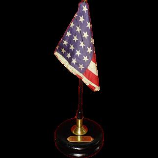 "1930, "" Women Musicians Association ""  Award, Paul Revere, 48 Stars USA american  Flag"