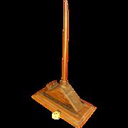 "1800's ""Unlucky"" Lightning Rod, Boston, Paperweight, Display Item"