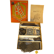 Rare Russian Erector Set, Vintage Circa 1950's, Build Twelve Different Machines, Contraptions,  & Toys, Flawless Condition