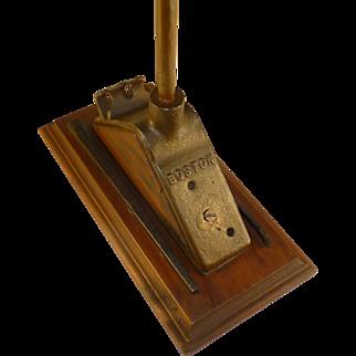 1800's Vintage Unlucky Barn Lightning Rod, Boston, Paperweight, Shelf Display