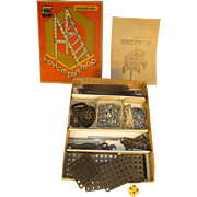 Rare Russian Erector Set, Vintage 1950's, Build 12 Different Contrptions, Flawless & Complete