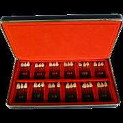 Vintage Dentist Sample Teeth Set