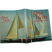 """"""" The Great Yachts """" by McCutchen, A Vintage 1st Edition!, Superb Original Condition, 1979"""