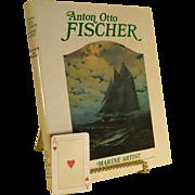 Anton Fischer Marine Artist: His Life & Work, First US Edition, 1984, Book,