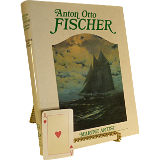 Anton Fischer Marine Artist: His Life & Work, First US Edition, 1984, Book,