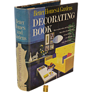 1950 -1961, Better Homes & Garden,  Decorating Book, Classic Retro, Furniture & Room Design, Immaculate condition