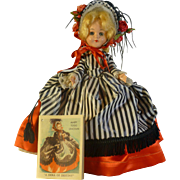 Rare Mary Todd Lincoln Doll, 1953, Dolls of Destiny Collection, by Marion Merrill & Helen Meyer