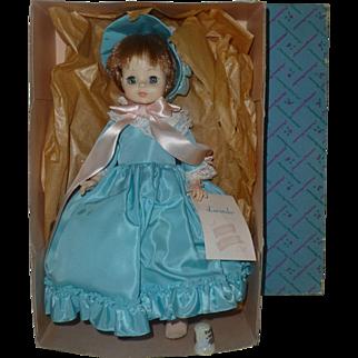 1960's Vintage, Madame Alexander Lucinda Doll, Mint Condition, Original Tags and  Box, Sleepy Eyes, Model # 1535, NY, NY.
