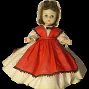 "Vintage Madame Alexander Doll, "" Jo "", 1950's, All Original With Box."