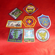 Old Boy Scout Patches - Red Tag Sale Item