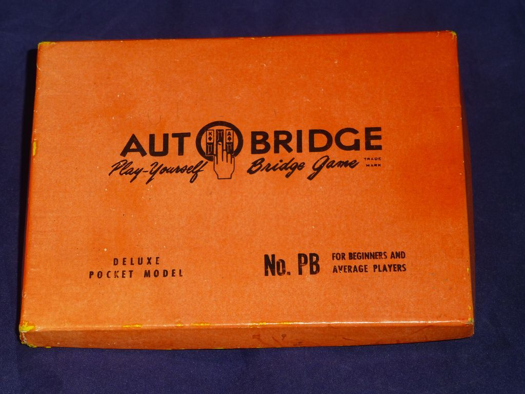 1959 Autobridge Card Game Deluxe Pocket Model Toy 48