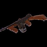 80's Replica Toy Tommy gun & Riot Shotgun, San Francisco Mint Model Gun Club