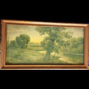 Edwin Lamasure Framed Print