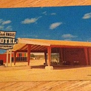Black Angus Motel Restaurant, Poteau, Oklahoma