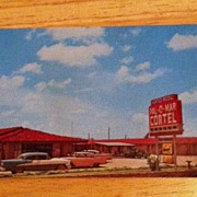 Postcard Pal-O-Mar Cortel, Snyder, Texas