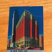 Postcard The Sheraton Alantic Hotel, New York