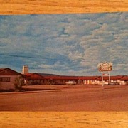 Postcard Reed's Motor Lodge, Springerville, Arizona