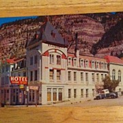 Postcard Beaumont Hotel, Ooray, Colorado