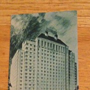 Postcard Shamrock Hotel, Houston, Texas
