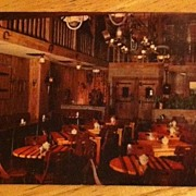 Postcard Kelley's Famous Corral Room, Houston, Texas