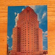 Postcard Oklahoma City Sheraton Hotel