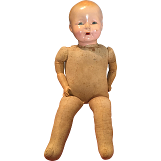 Ideal Tickletoes Baby Smiles Doll from 1927