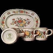 Villeroy & Boch Summerday Platter and 6 Mugs