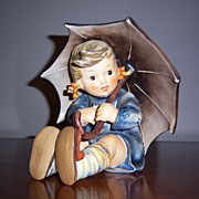 Hummel Girl with Umbrella