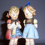 Hummel Knitting Lesson figurine