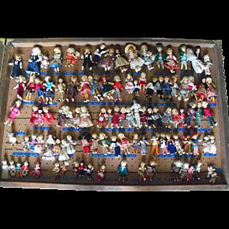 Salesman's Sample Crate Erna Meyer German Dolls 150+