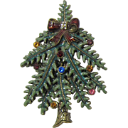 Avon 2004 1st Annual Christmas Tree Brooch - Book Piece