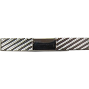 Handsome Swank Sterling Silver Money Clip or Tie Bar - LAST CHANCE