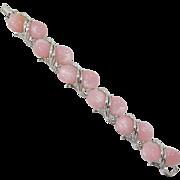 Star Pink Thermoplastic Link Bracelet