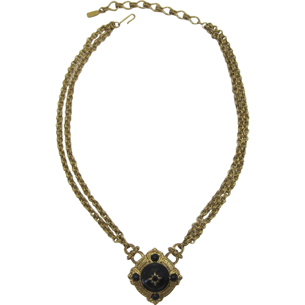 1928 Jewelry Company Victorian Revival Necklace